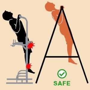 safe pullup bars