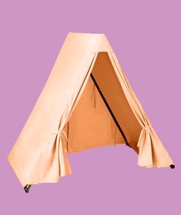 make playing tent