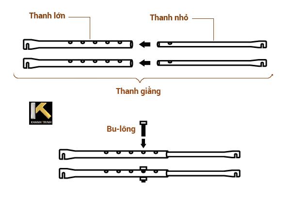 thanh giằng xa don xep Khanh Trinh