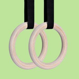 Mã hàng KT2.RING – Vòng treo xà Fitness Gymnastics Rings chất lượng cao