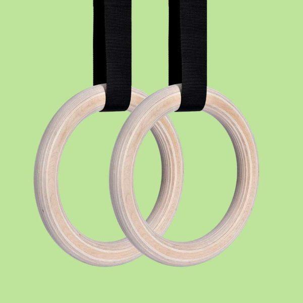 vòng treo xà fitness gymnastic rings